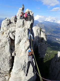 Via ferrata, via cordata