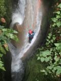 canyoning en Chartreuse avec Vertic'O