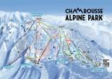 Plan pistes ski alpin Chamrousse 2020-2021